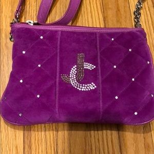 Purple or Magenta Juicy Couture purse